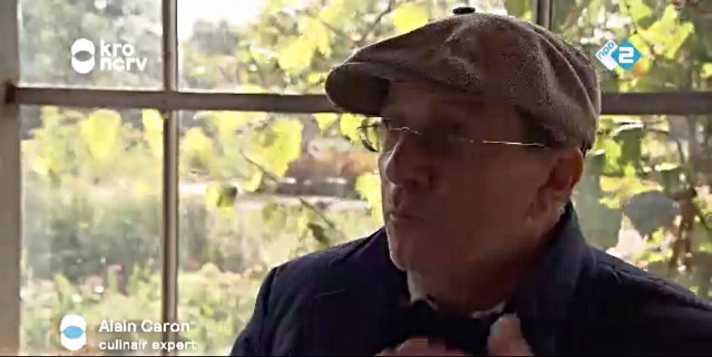 Alain Caron op bezoek bij Kwekerij Zonnemaire
