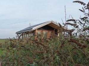 Een van de retraite woningen van Dieneke Klompe